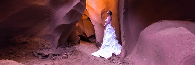 Antelope Canyon Wedding Location