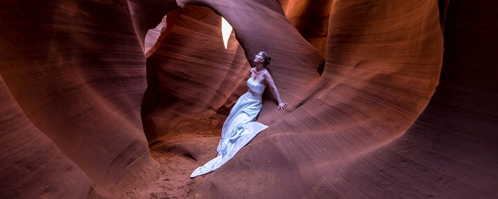 Antelope Canyon Bride