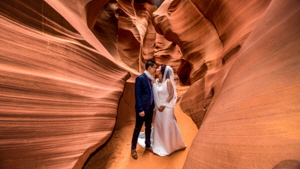 Antelope Secret Slot Canyon Engagement Packages
